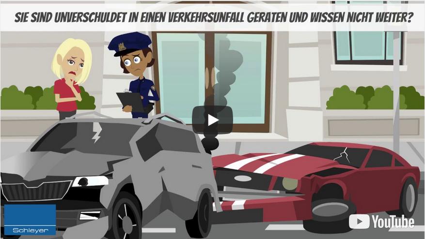 Erklärung der Unfallabwicklung